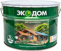 Защитно-декоративный состав Экодом Палисандр (9л) -
