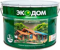 Защитно-декоративный состав Экодом Калужница (9л) -