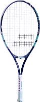 Теннисная ракетка Babolat B'FLY 25 Gr00 9-10 лет / 140245 (фиолетовый/бирюзовый) -
