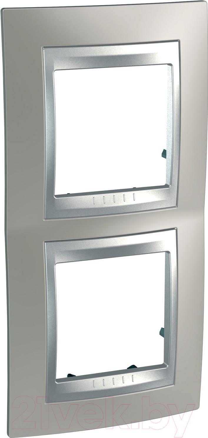 Купить Рамка для выключателя Schneider Electric, Unica MGU66.004V.039, Россия, сплав поликарбоната и ASA-пластика, Unica Top (Schneider Electric)