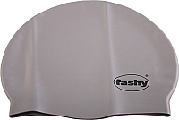 Шапочка для плавания Fashy Silicone Cap / 3040-12 (серебристый) -