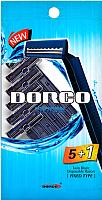 Набор бритвенных станков Dorco Одноразовый 2 лезвия (6шт) -
