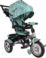 Детский велосипед с ручкой Lorelli Neo Air Green Lines (10050341993) -