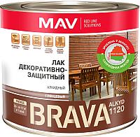 Лак MAV Brava Alkyd декоративно-защитный (1.7кг) -