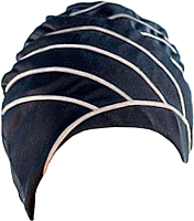 Шапочка для плавания Fashy Exclusive swimcap / 3428 (черный/бежевый) -