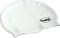 Шапочка для плавания Fashy Silicone Cap / 3040-10 (белый) -