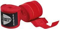 Боксерские бинты Green Hill BP-6232d (красный) -