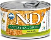 Корм для собак Farmina N&D Ancestral Grain Boar & Apple Mini (140г) -