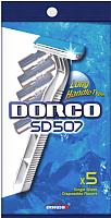 Набор бритвенных станков Dorco Одноразовый 1 лезвие (5шт) -