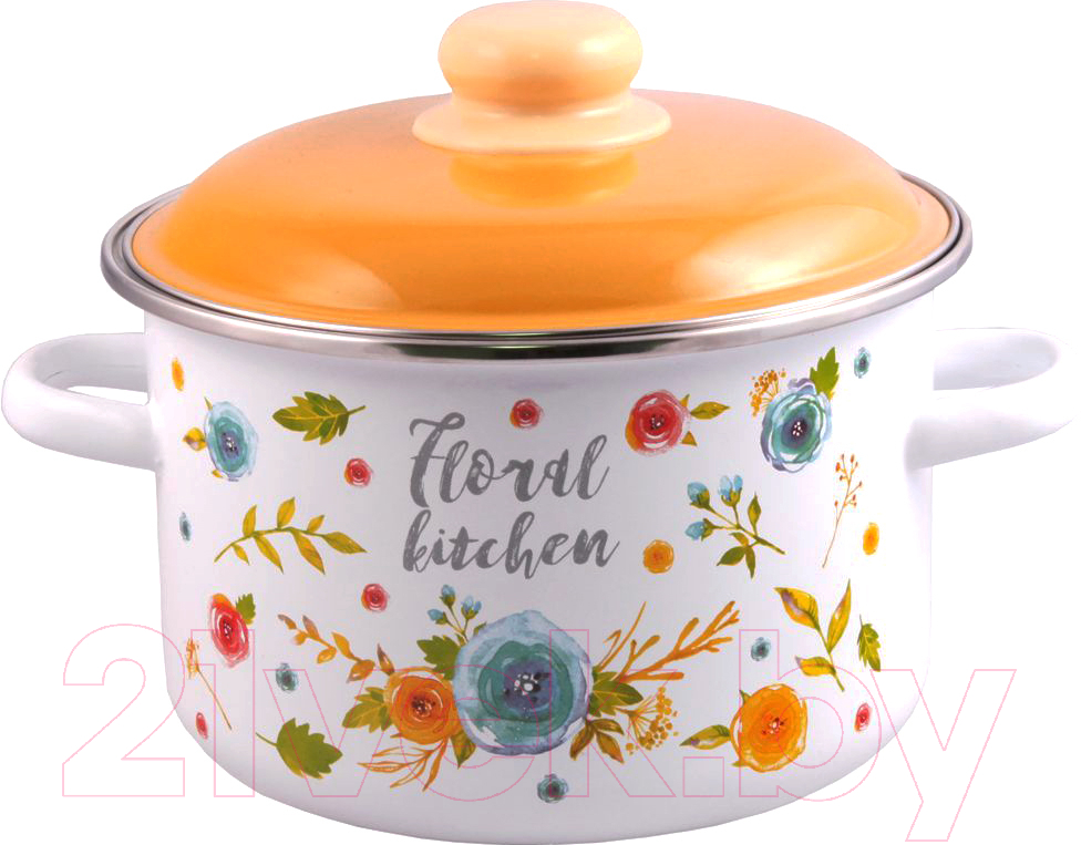 Купить Кастрюля Appetite, Floral Kitchen 6RD161M, Россия
