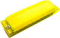 Губная гармошка Hohner Happy Color Yellow / M5151 -