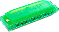Губная гармошка Hohner Happy Color Green / M5153 -