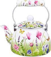 Чайник со свистком Appetite Примавера FT5-2.5-PR -
