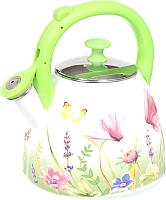 Чайник со свистком Appetite Примавера FT19-PR -