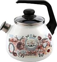 Чайник со свистком Appetite Roses 4с209я -