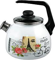 Чайник со свистком Appetite Париж 4с209я -