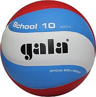 Мяч волейбольный Gala Sport School 10 / BV5711S (размер 5, белый/красный/синий) -
