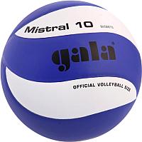Мяч волейбольный Gala Sport Mistral 10 / BV5661S (размер 5, белый/синий) -