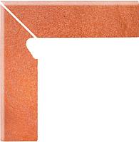 Плинтус керамический Opoczno Solar Orange 3D левый OD128-005-1 (81x300) -