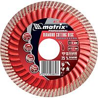 Отрезной диск алмазный Matrix 73195 -