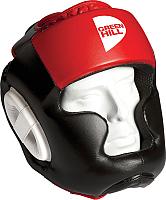 Боксерский шлем Green Hill Poise HGP-9015-M-RD (M, черный/красный) -