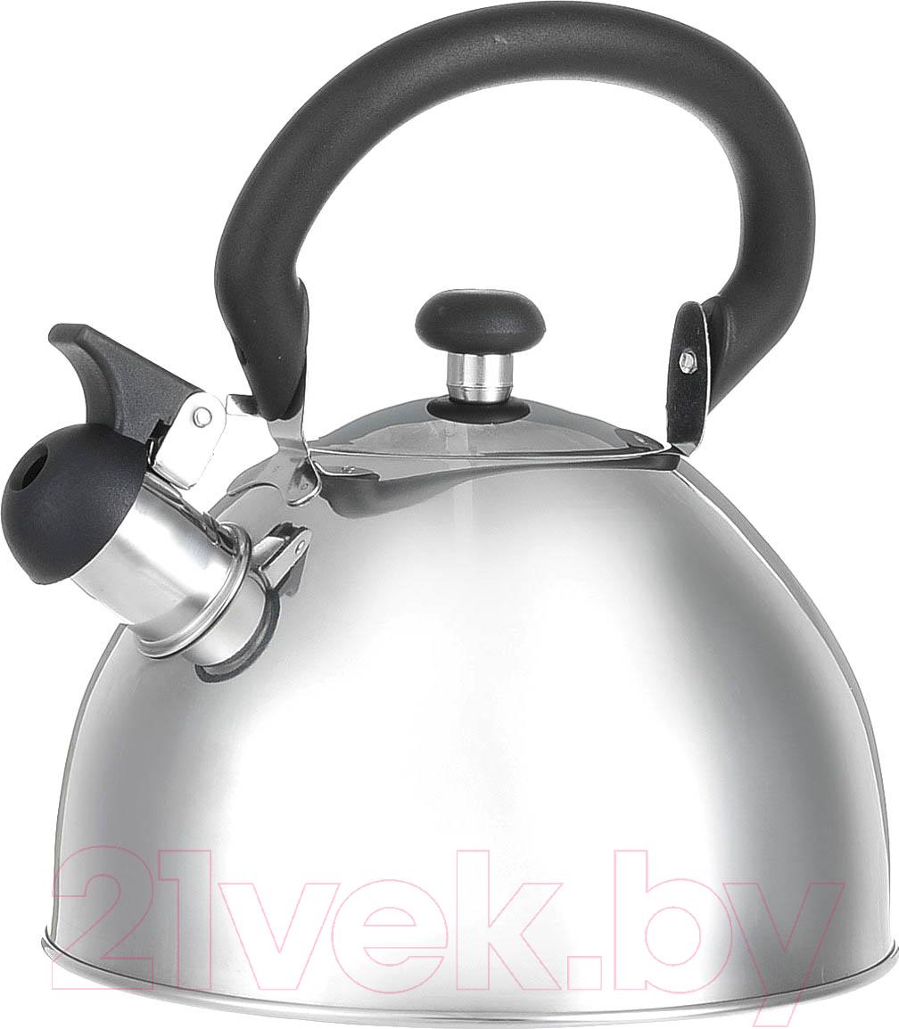 Купить Чайник со свистком Appetite, LKD-049, Россия, нержавеющая сталь