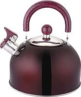 Чайник со свистком Appetite LKD-2025D (бордо) -