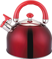Чайник со свистком Appetite LKD-2025R (красный) -