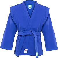 Куртка для самбо Green Hill JS-303 (р.46/165, синий) -