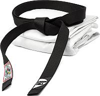 Пояс для кимоно Green Hill JBI-10338-270 (черный) -