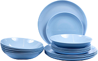 Набор тарелок Luminarc Diwali Light Blue P2962 -