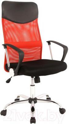 Кресло офисное Signal Q-025 (черный/красный) - общий вид
