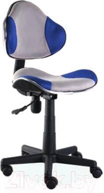 Кресло детское Signal Q-G2 (синий/серый) - общий вид
