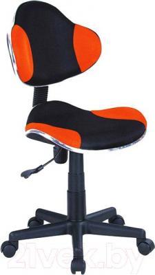 Кресло детское Signal Q-G2 (черный/оранжевый) - общий вид
