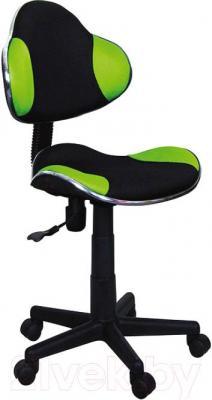 Кресло детское Signal Q-G2 (черный/зеленый)