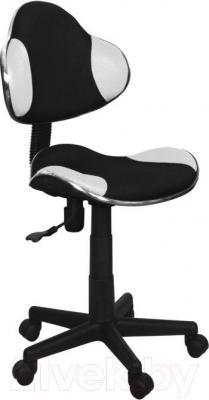 Кресло детское Signal Q-G2 (белый/черный) - общий вид