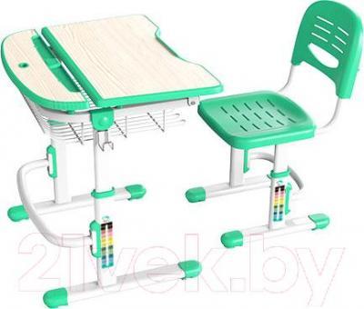 Парта+стул Sundays C302 (зеленый) - общий вид