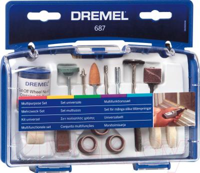 Набор оснастки Dremel 2.615.068.7JA - общий вид