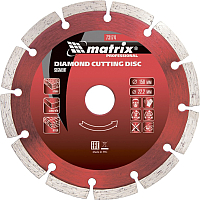 Отрезной диск алмазный Matrix 73175 -