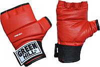 Перчатки для единоборств Green Hill CFBM-2077 (L, красный) -