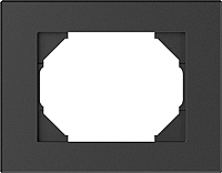 Рамка для выключателя Vilma 4779101517019 (антрацит) -
