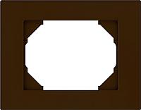 Рамка для выключателя Vilma 4779101513011 (коричневый) -