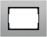 Рамка для выключателя Vilma 4779101516784 (сталь) -