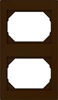 Рамка для выключателя Vilma 4779101513066 (коричневый) -