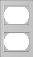 Рамка для выключателя Vilma 4779101519280 (металлик) -