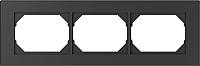 Рамка для выключателя Vilma 4779101517033 (антрацит) -