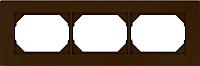 Рамка для выключателя Vilma 4779101513035 (коричневый) -