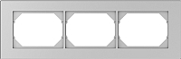 Рамка для выключателя Vilma 4779101519310 (металлик) -