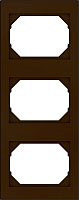 Рамка для выключателя Vilma 4779101513073 (коричневый) -