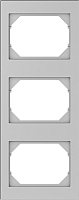 Рамка для выключателя Vilma 4779101519341 (металлик) -